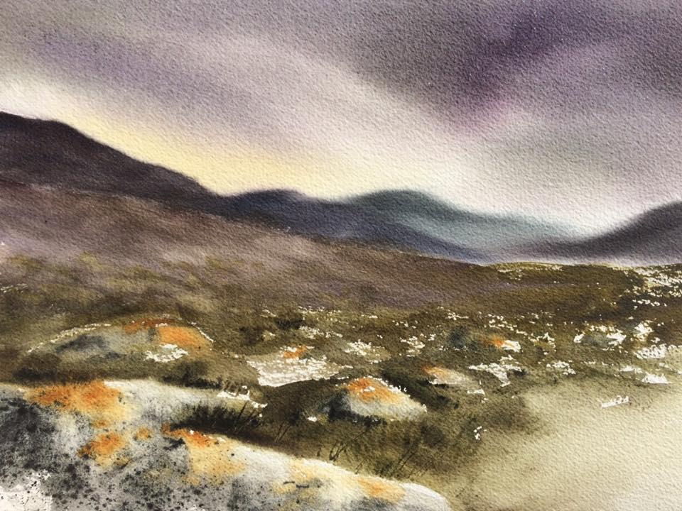 Akvarellkurs Irland
